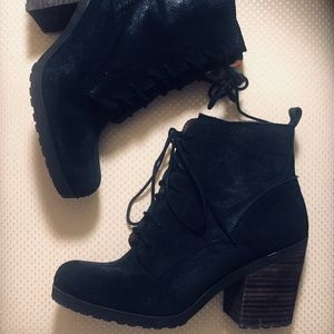Lucky Brand Heeled Ankle Boots